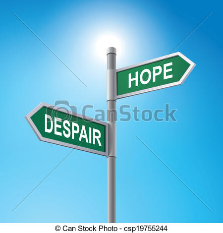 Despair clipart choice Csp19755244  3d sign saying