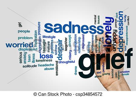 Grieve clipart emotional stress #8