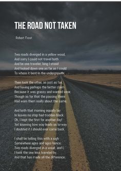 Despair clipart the road not taken Today by Bright the road