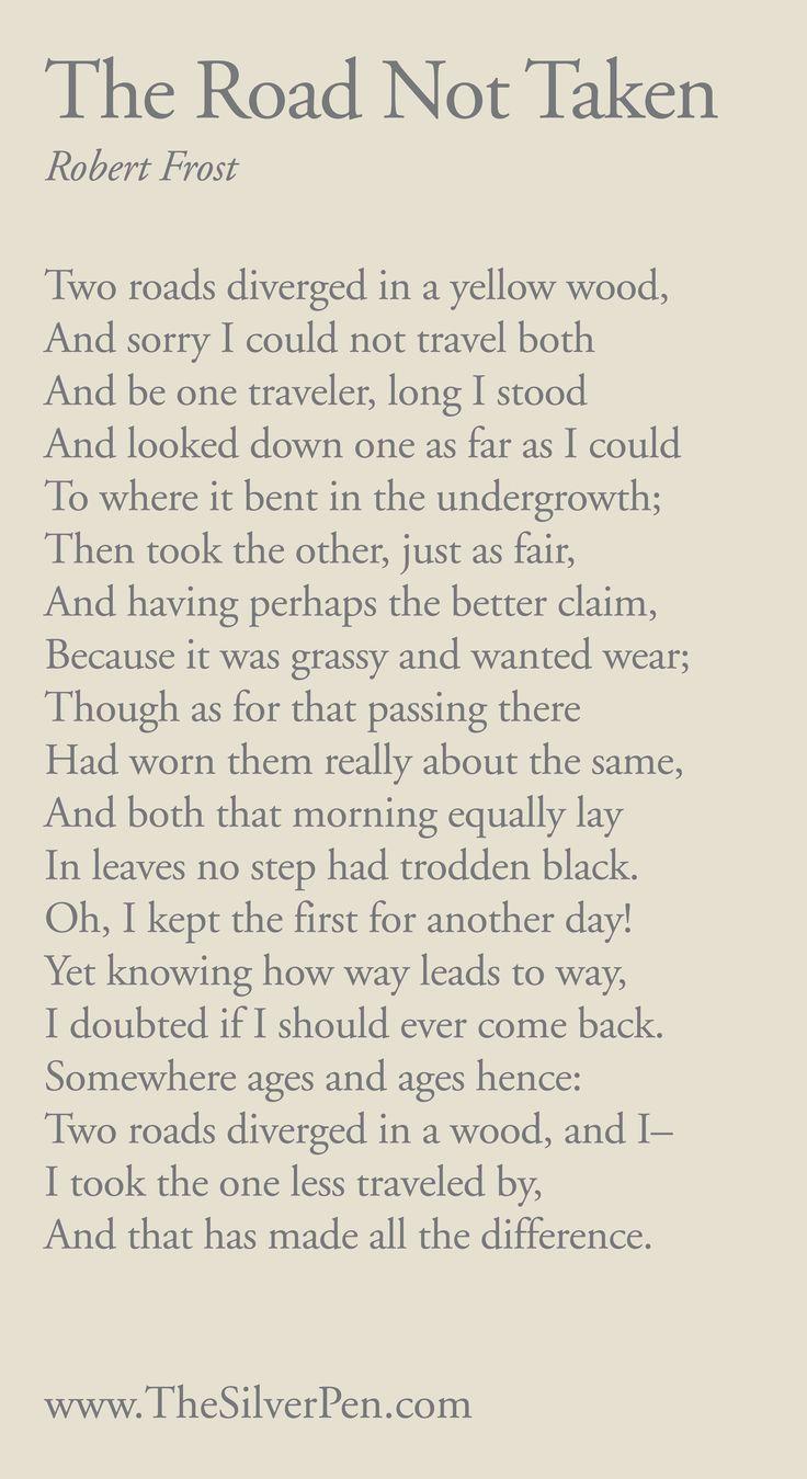 Despair clipart the road not taken  Garden poems on 20+
