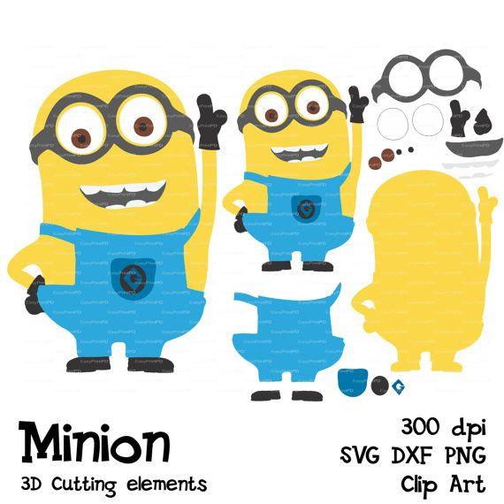 Despicable Me clipart birthday minion  file Minions Minions SVG