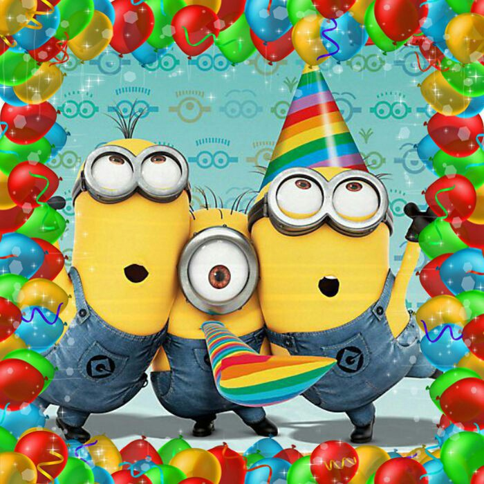 Despicable Me clipart birthday minion Birthday Me Graphics Minions Art