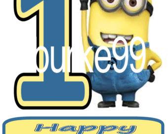 Despicable Me clipart birthday minion Despicable clipart happy Minion BBCpersian7