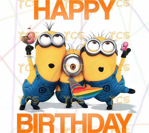 Despicable Me clipart birthday minion Me Printable download Happy Me