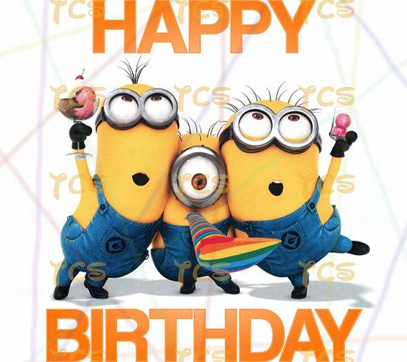 Despicable Me clipart birthday minion Printable  Universal DIY Me