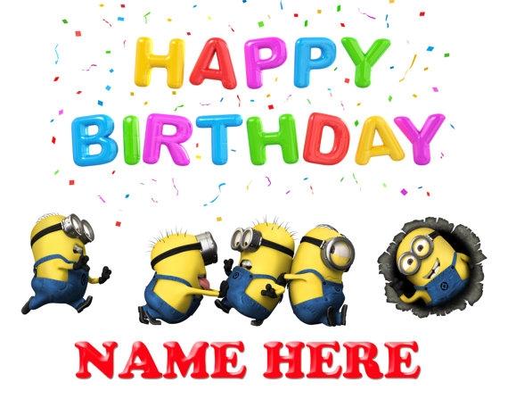 Despicable Me clipart birthday minion Minions birthday Happy ClipartFest birthday
