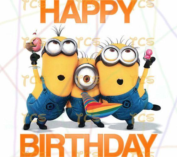 Despicable Me clipart david Minions Despicable Birthday Me Happy