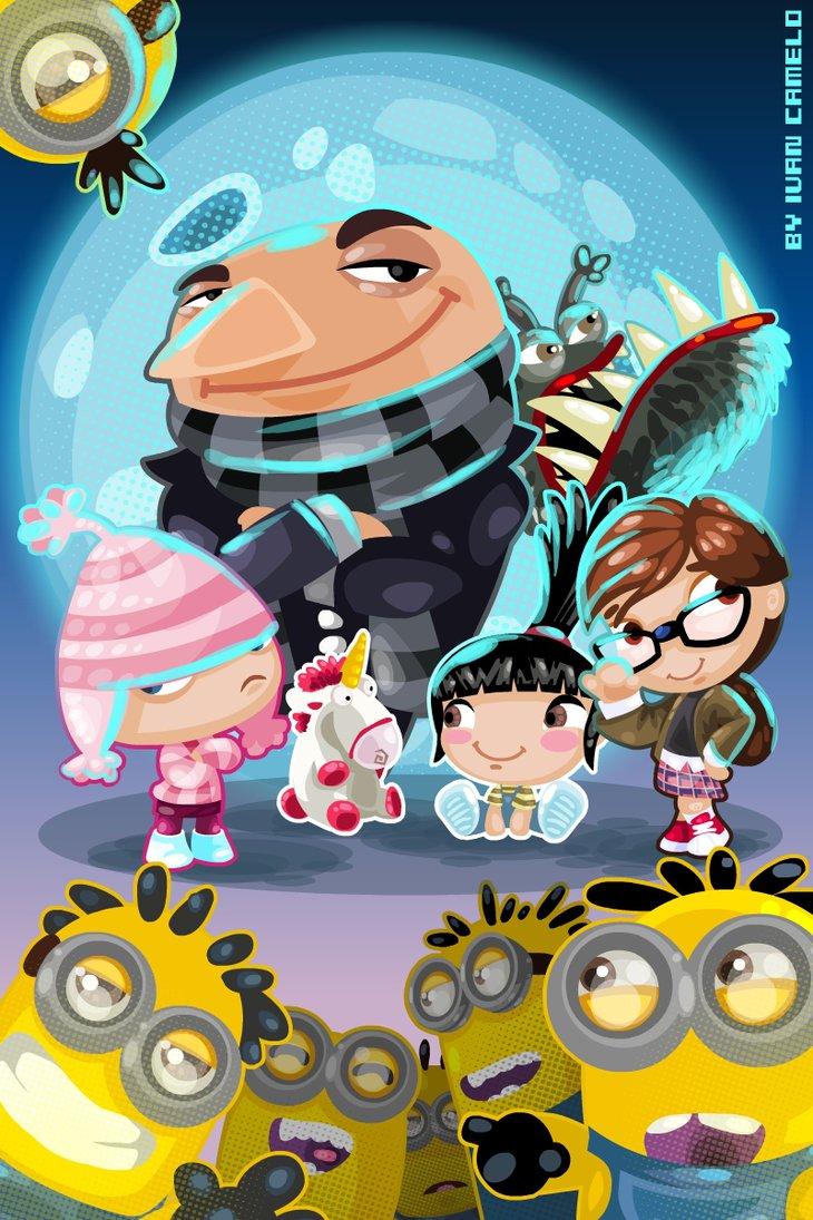 Despicable Me clipart deviantart Vancamelot me!!! on DeviantArt by