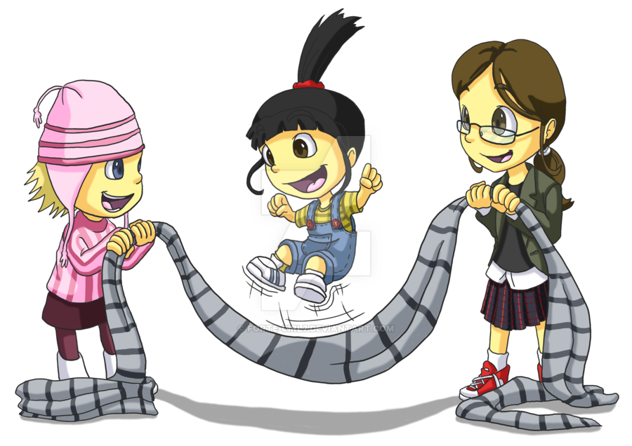 Despicable Me clipart deviantart Rope Me: Me: Jump Rope