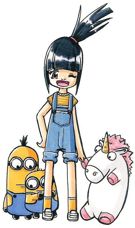 Despicable Me clipart deviantart Me from Agnes from