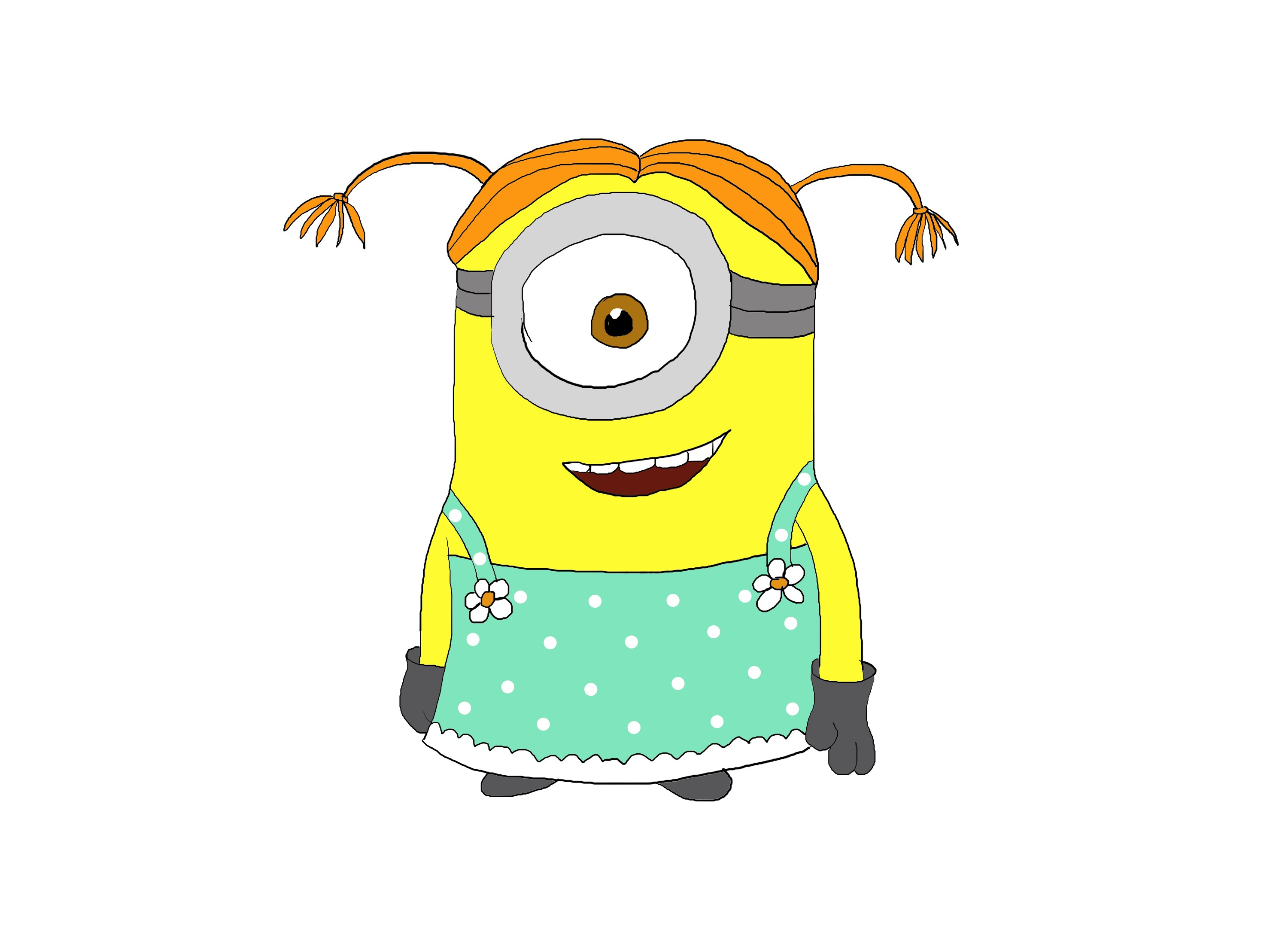 Despicable Me clipart easy Step to нарисовать?) Step draw