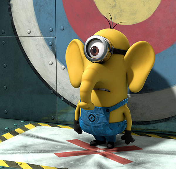 Despicable Me clipart elephant Cute Wallpapers Collection  minion