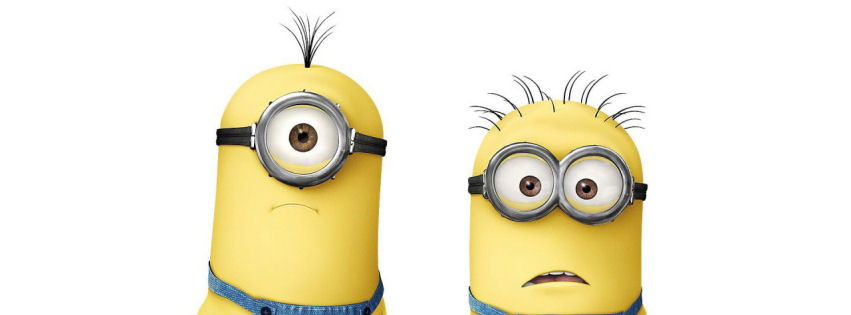 Despicable Me clipart facebook covers Cover faebook 2 Despicable facebook