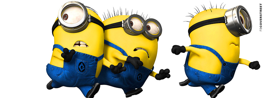 Despicable Me clipart facebook covers Facebook Minions Despicable Minions Running