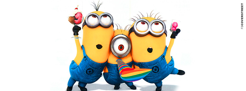 Despicable Me clipart facebook covers Facebook Partying Despicable Minions Minions