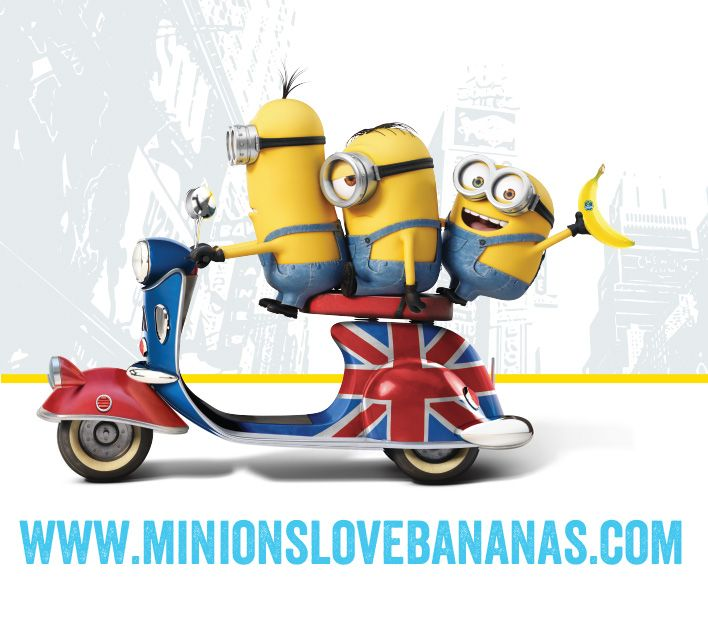 Despicable Me clipart friendship Images with Banana http://checkthisinfo Minion