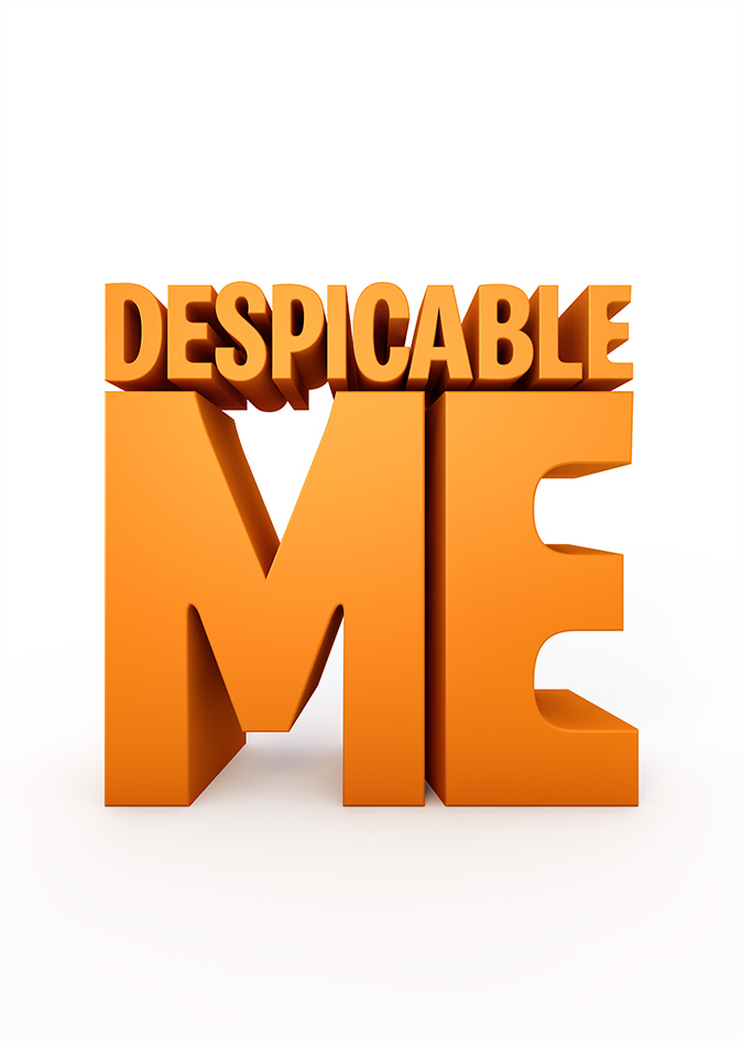 Despicable Me clipart logo DESPICABLE Title 2 · Treatment