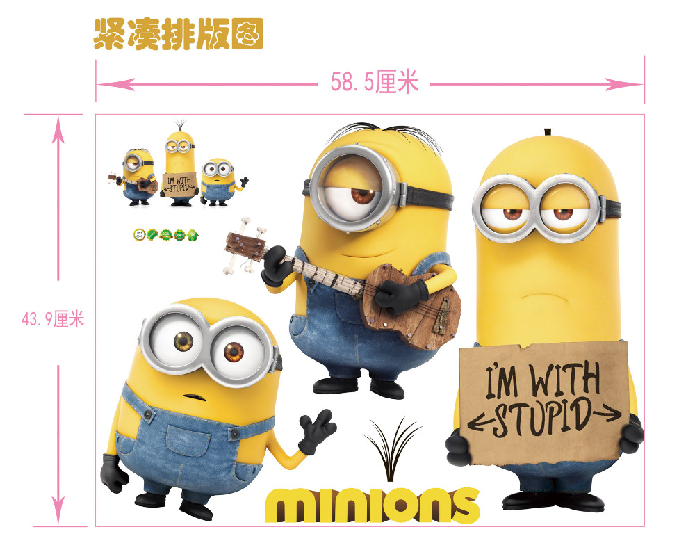 Despicable Me clipart mark Room Despicable Wall Home Paper