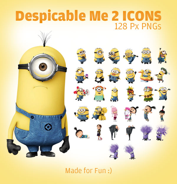 Despicable Me clipart mark Px PNGs Icons 128 PNGs