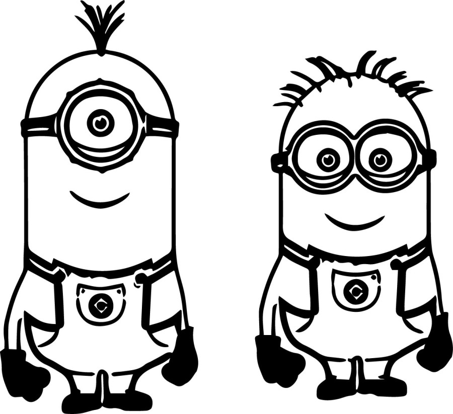 Despicable Me clipart printable Despicable color clipart Minions collection
