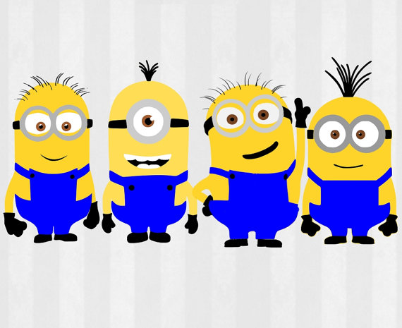 Despicable Me clipart skinny SVG Despicable Files minion Minions