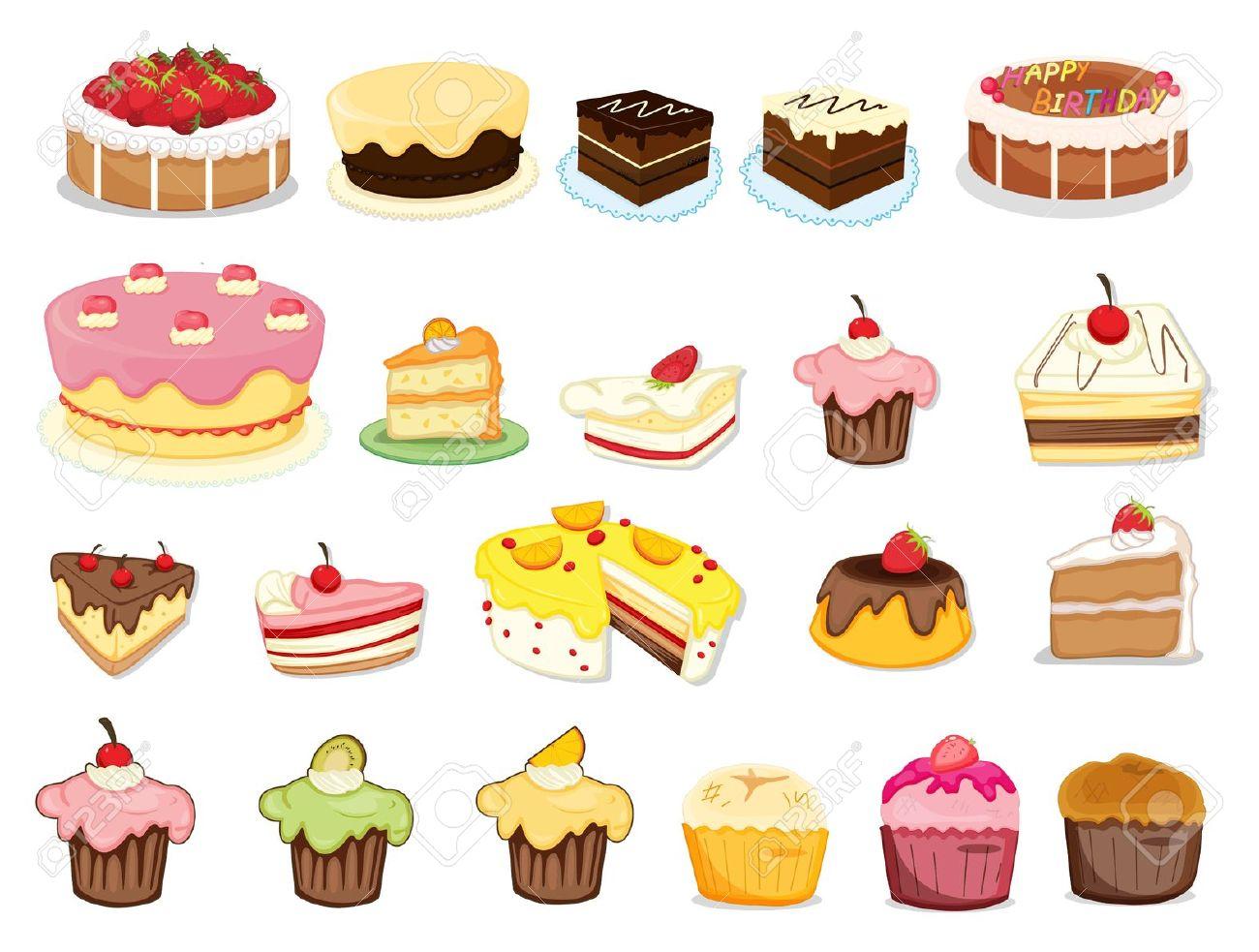 Cake clipart dessert On & clipart Clipart Dessert