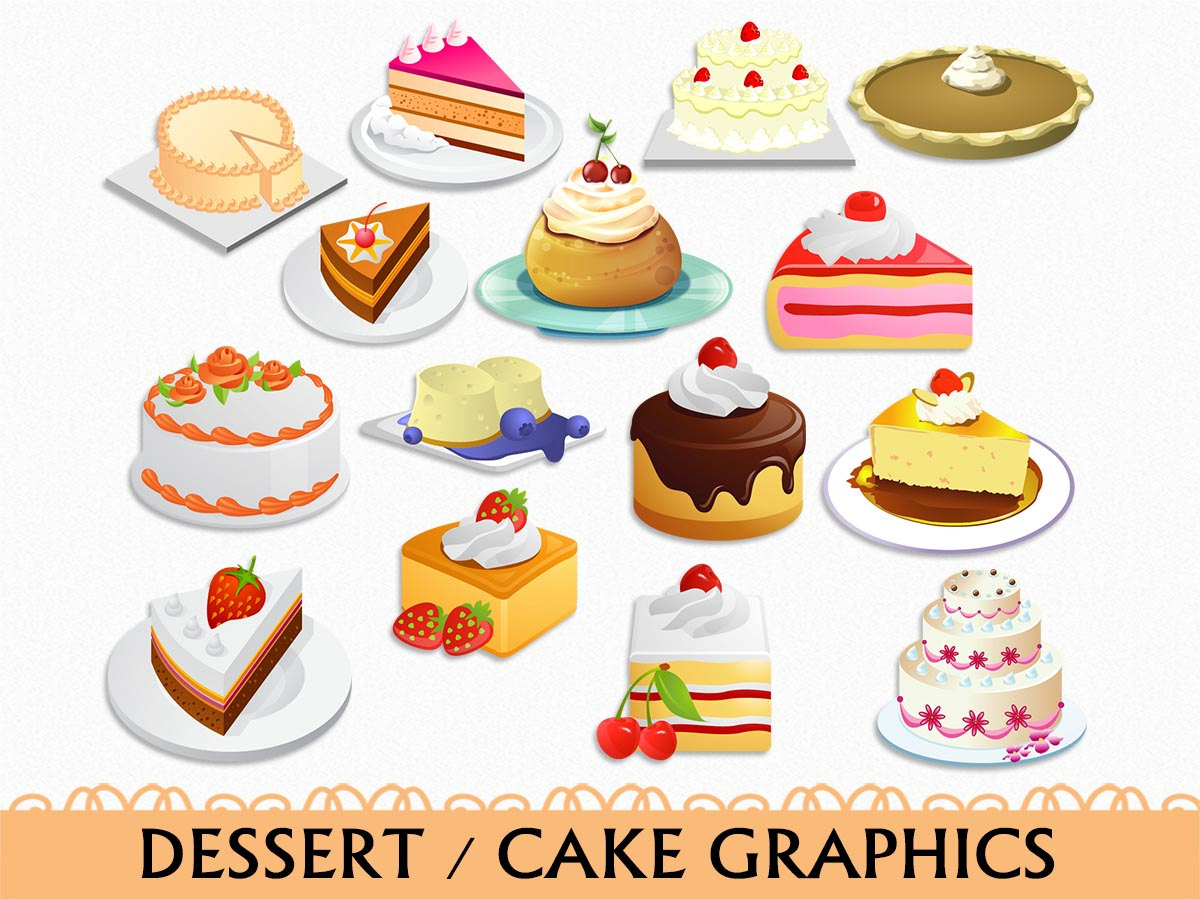 In The Desert clipart dessert tray Clip Graphic Vector Clip Transparent