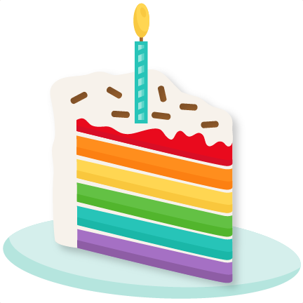 Cake clipart cute Collections cake ClipartFest birthday Slice