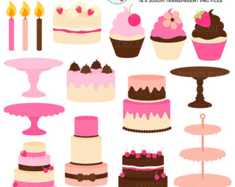 Cake clipart small cake Use Clipart Pretty Etsy Cake