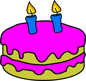 Candle clipart cake candle Birthday 2 Birthday Candles at