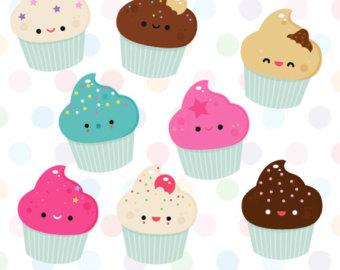 Muffin clipart cute cake Cute Free Art Clip Cake