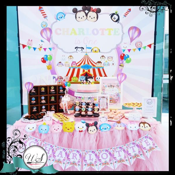 Candy Bar clipart dessert table & Singapore Tsum Dessert Customized