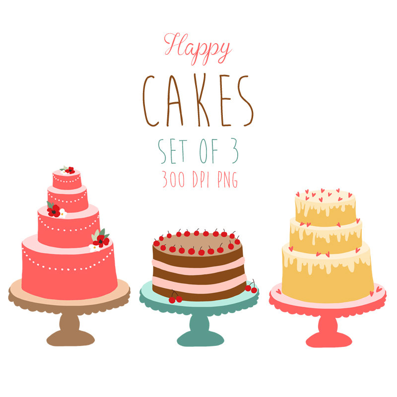 Iiii clipart tier cake Cake art Image for Free