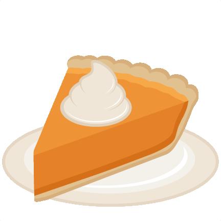Pie clipart sliced Cut Pumpkin scrapbook Slice cut