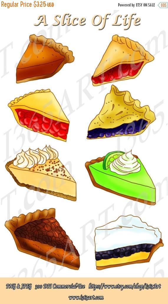 Pies clipart bluberry Pie Scrapbooking Scrapbooking Digital Party