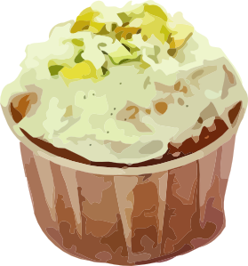 Cake clipart small cake Online Art Small Art Cup