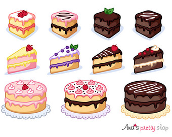 Pastry clipart sweet treat Cake Clipart clipart Treat Cake
