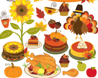 Pie clipart turkey food With sunflower Turkey Thanksgiving clipart