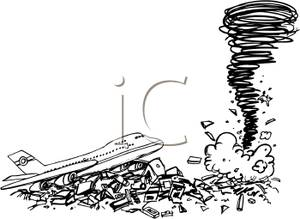 Destruction clipart black and white Near In Image: a Image: