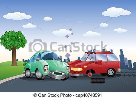 Destruction clipart car crash Photographs green crash a green