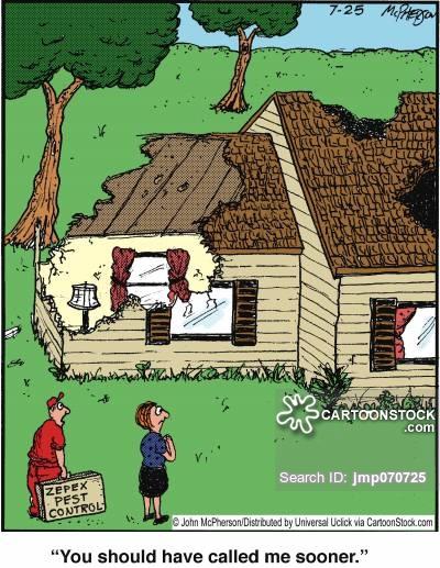 Destruction clipart destroyed house Cartoon Cartoons and CartoonStock Destroyed