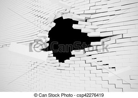 Destruction clipart wall #6