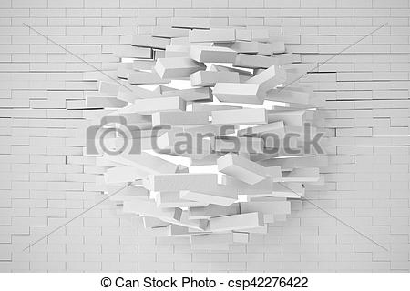 Destruction clipart wall #5