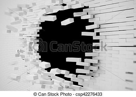 Destruction clipart wall #8