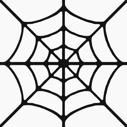 Drawn spider silhouette – Spider Art Clipart Art