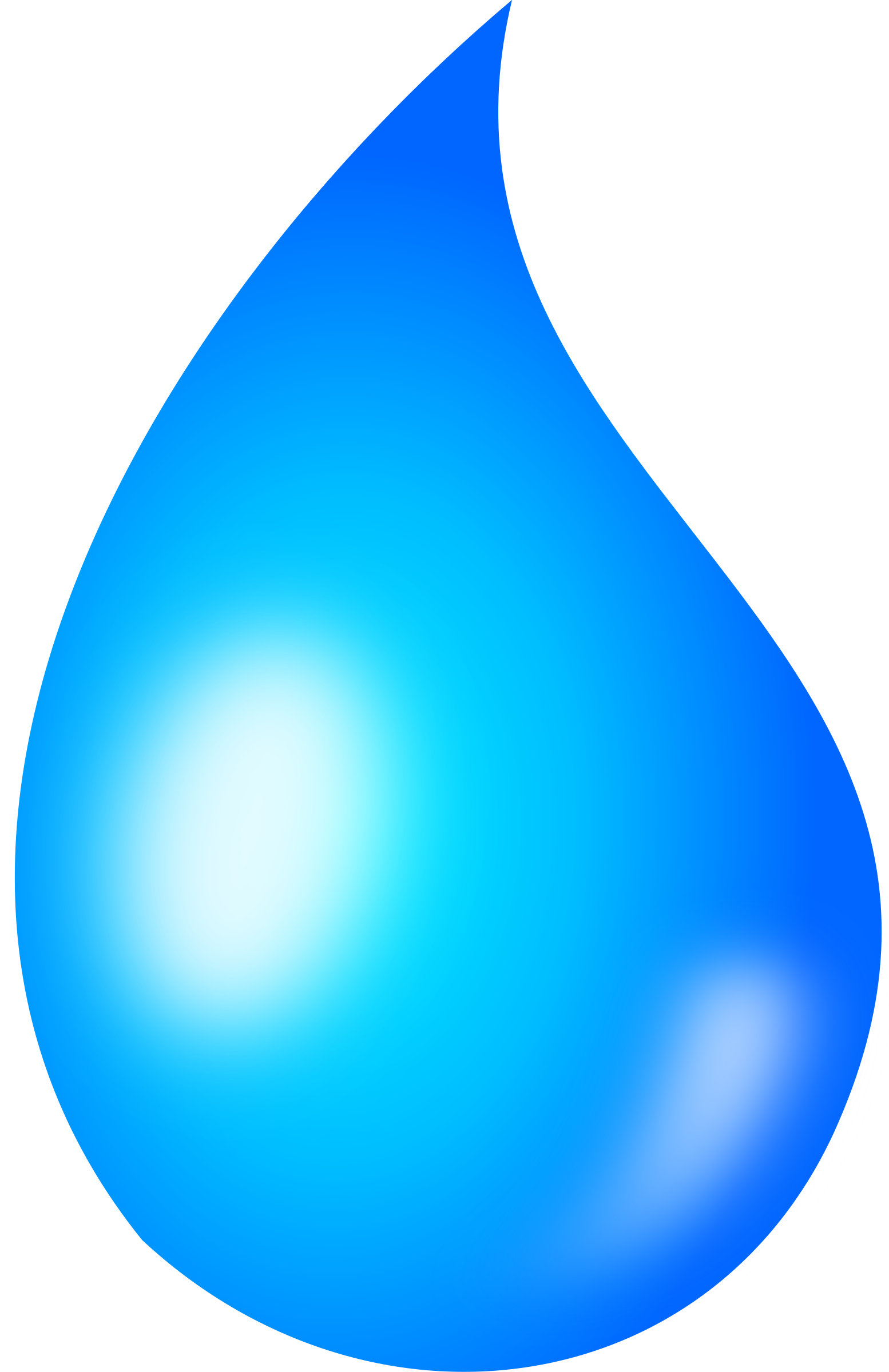 Liquid clipart teardrop Shaded Clipart drop Water drop