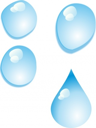 Waterdrop clipart glass #15