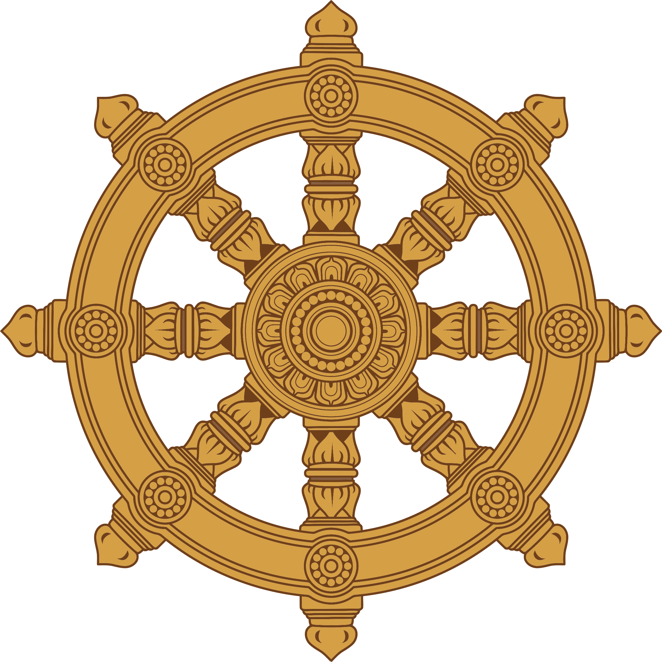 Dharma clipart Ornate Dharma Ornate Wheel Wheel