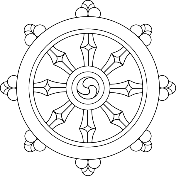 Dharma clipart The symbol and of as