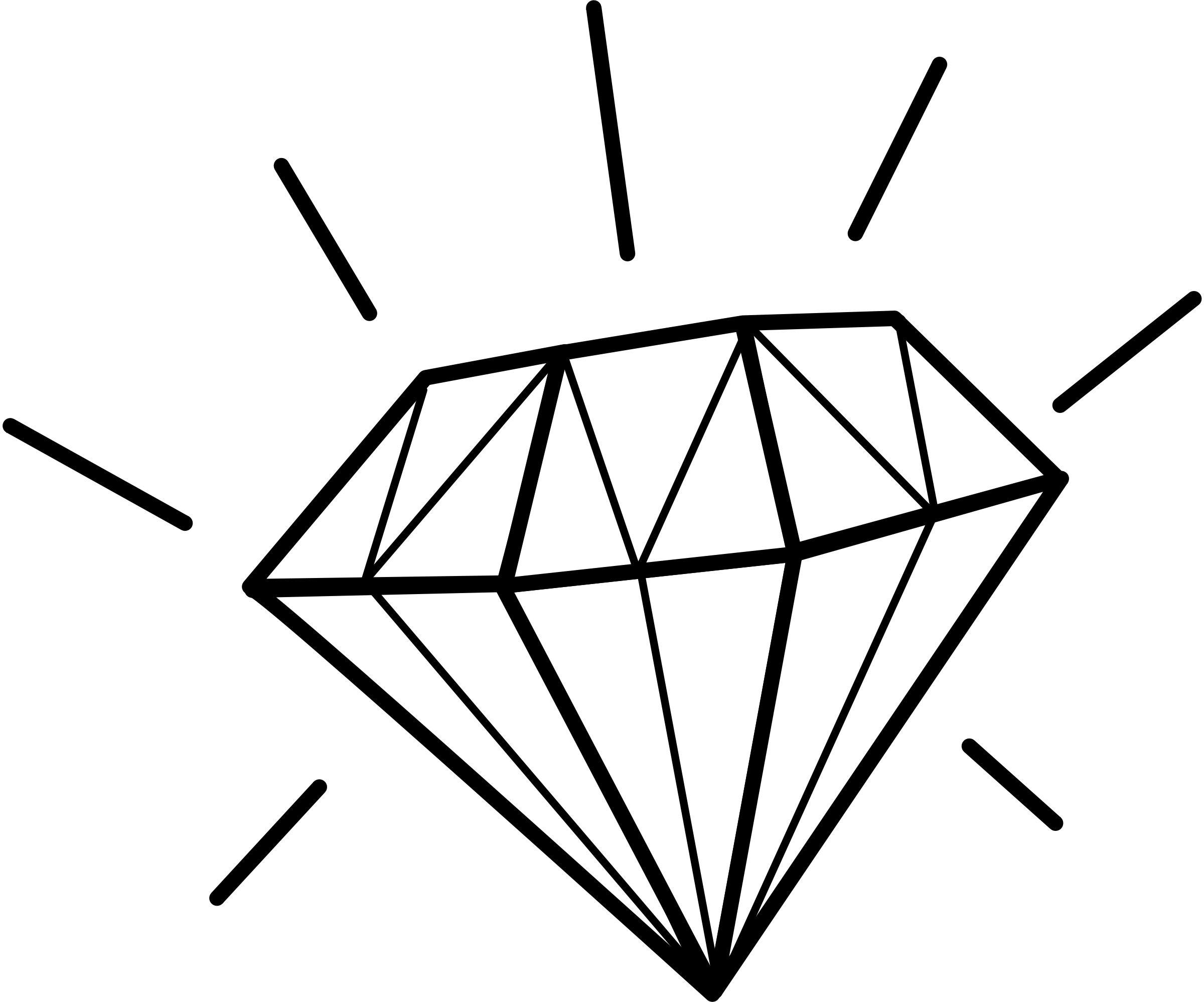 Diamond clipart retro Free Free Clip Diamond Art